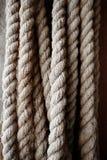 Vieux texture et fond de corde Image libre de droits