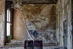Vieux théâtre dans le bâtiment abandonné Photos libres de droits