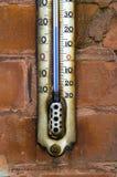 Vieux thermomètre   Photo libre de droits