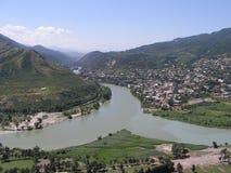 Vieux Tibilisi photo libre de droits