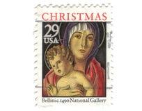 Vieux timbre-poste des Etats-Unis Images libres de droits