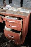 Vieux tiroir Photos libres de droits