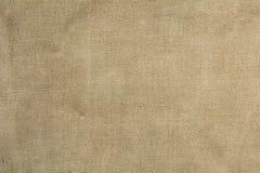 Vieux tissu de toile de jute pour le fond Photographie stock