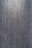 Vieux tissu noir de jeans Photos libres de droits
