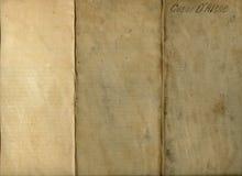 Vieux tissu plié sale Photo libre de droits