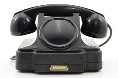 Vieux téléphone. Image libre de droits