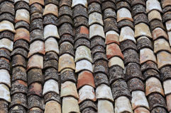 Vieux toit Photographie stock