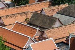 Vieux toit Photographie stock libre de droits