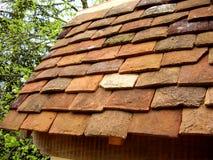 Vieux toit carrelé photos libres de droits