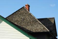 Vieux toit de maison Photo libre de droits