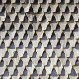Vieux toit en bois putréfié Photographie stock