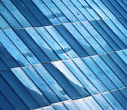 Vieux toit en métal Photo stock