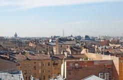 Vieux toits St Petersburg Russie Photographie stock