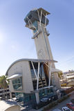 Vieux tour de contrôle 1 de LAX Image libre de droits