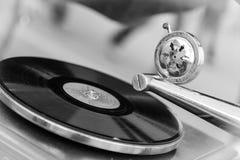 Vieux tourne-disque Photos libres de droits