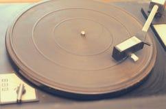 Vieux tourne-disque poussiéreux Photos stock