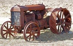 Vieux tracteur 1 Photo stock