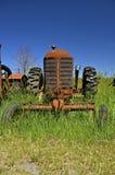 Vieux tracteur de Massey Harris photo libre de droits