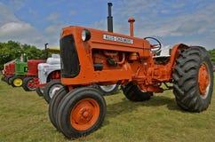 Vieux tracteurs reconstitués Photographie stock