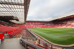 Vieux Trafford est maison de club du football de Manchester United Photographie stock libre de droits