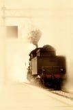 Vieux train Photographie stock