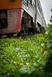 Vieux train Photo libre de droits