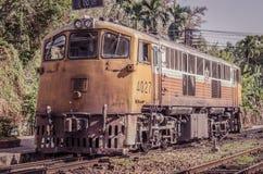 Vieux train Photographie stock libre de droits