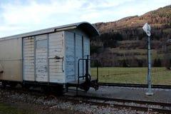 Vieux train Image stock
