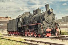 Vieux train de vapeur Image libre de droits