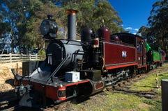 Vieux train de vapeur Photo libre de droits
