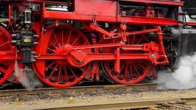 Vieux train de vapeur banque de vidéos
