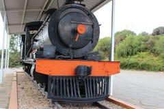 Vieux train de vapeur Images libres de droits