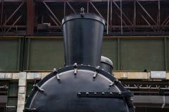 Vieux train de vapeur Photos stock
