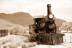Vieux train des Etats-Unis Images stock