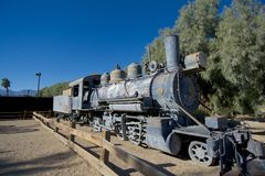 Vieux train sur le musée d'histoire Photos libres de droits