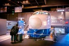 Vieux trains dans le musée ferroviaire d'Omiya, Saitama, Japon Photographie stock libre de droits