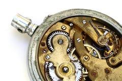 Vieux trains rouillés de montre de poche Images libres de droits