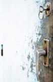 Vieux traitement de trappe Photo libre de droits