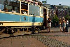 Vieux tram Photographie stock libre de droits