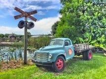 Vieux transporteur Photographie stock