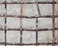 Vieux trellis cassé de fer photo libre de droits
