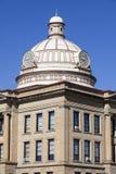 Vieux tribunal dans Lincoln, Logan County Photographie stock