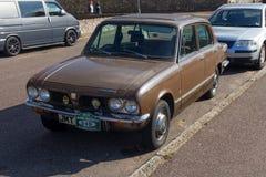 Vieux triomphe d'automobile images stock