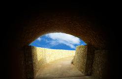 Vieux tunnel Image stock