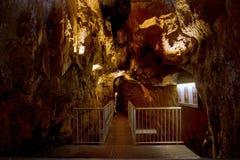 Vieux tunnel d'exploitation Mine Îles Maurice de bidon Images stock