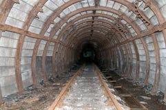 Vieux tunnel de mine Photographie stock libre de droits