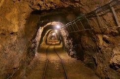 Vieux tunnel de mine Image libre de droits