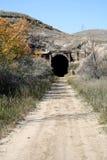 Vieux tunnel de train Image libre de droits