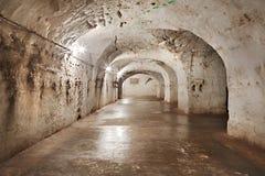 Vieux tunnels de mines Photographie stock