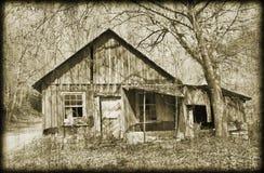 vieux type à la maison antique de photo Photos stock